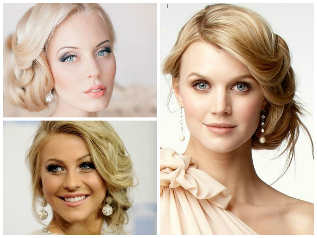 Wedding Hairstyles For A Round Face Shape – Hair World Magazine Intended For Short Hair For Round Chubby Face (View 20 of 25)