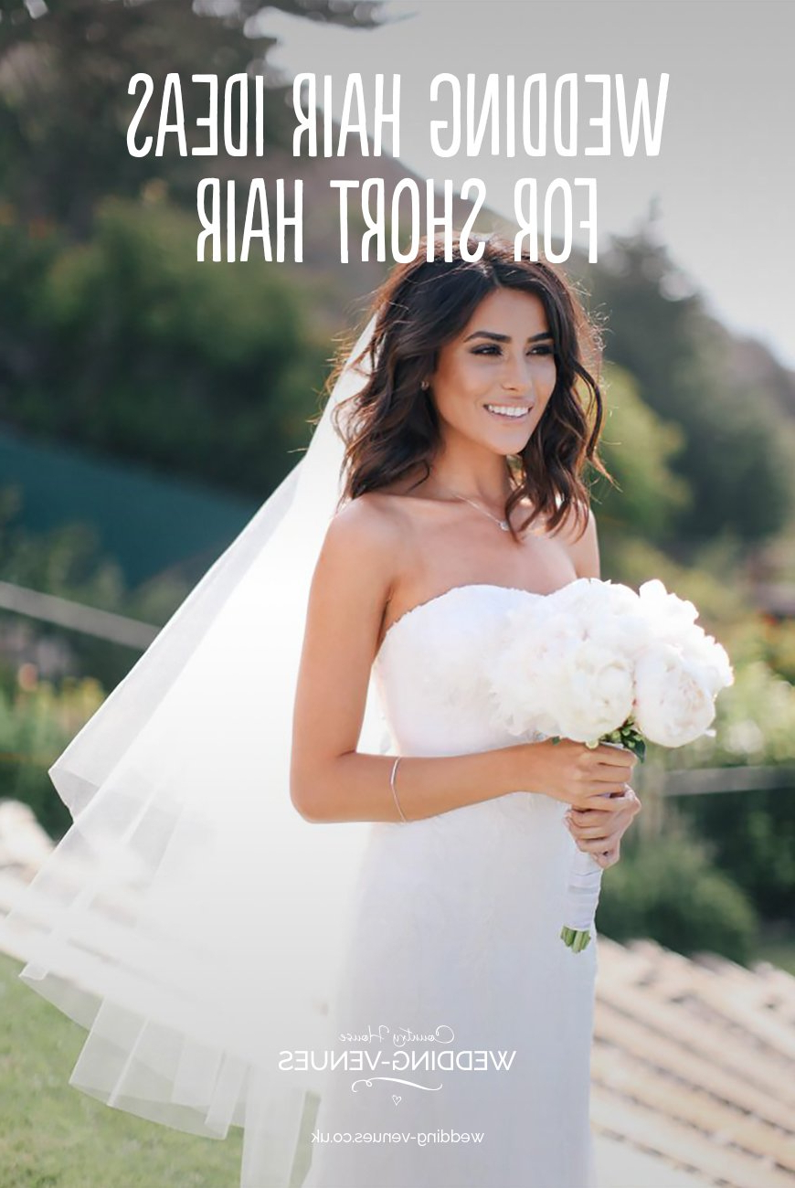 Wedding Hairstyles For Short Hair   Chwv Throughout Brides Hairstyles For Short Hair (View 13 of 25)