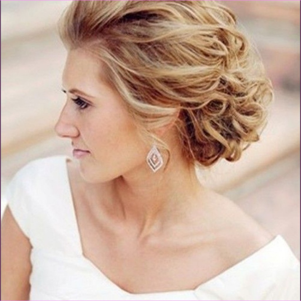 Wedding Hairstyles For Short Hair Updos – Best Short Haircuts 2019 In Hairstyle For Short Hair For Wedding (View 24 of 25)