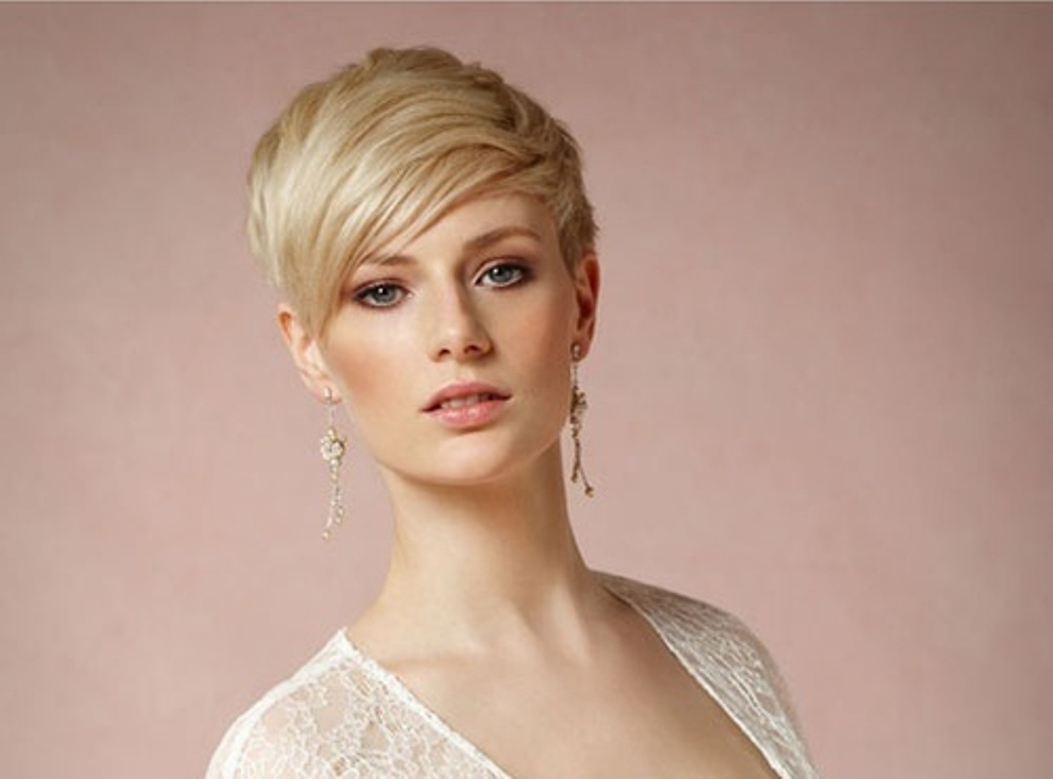 Wedding Hairstyles Short Hair Pictures – Hairstyle For Women & Man For Brides Hairstyles For Short Hair (View 23 of 25)