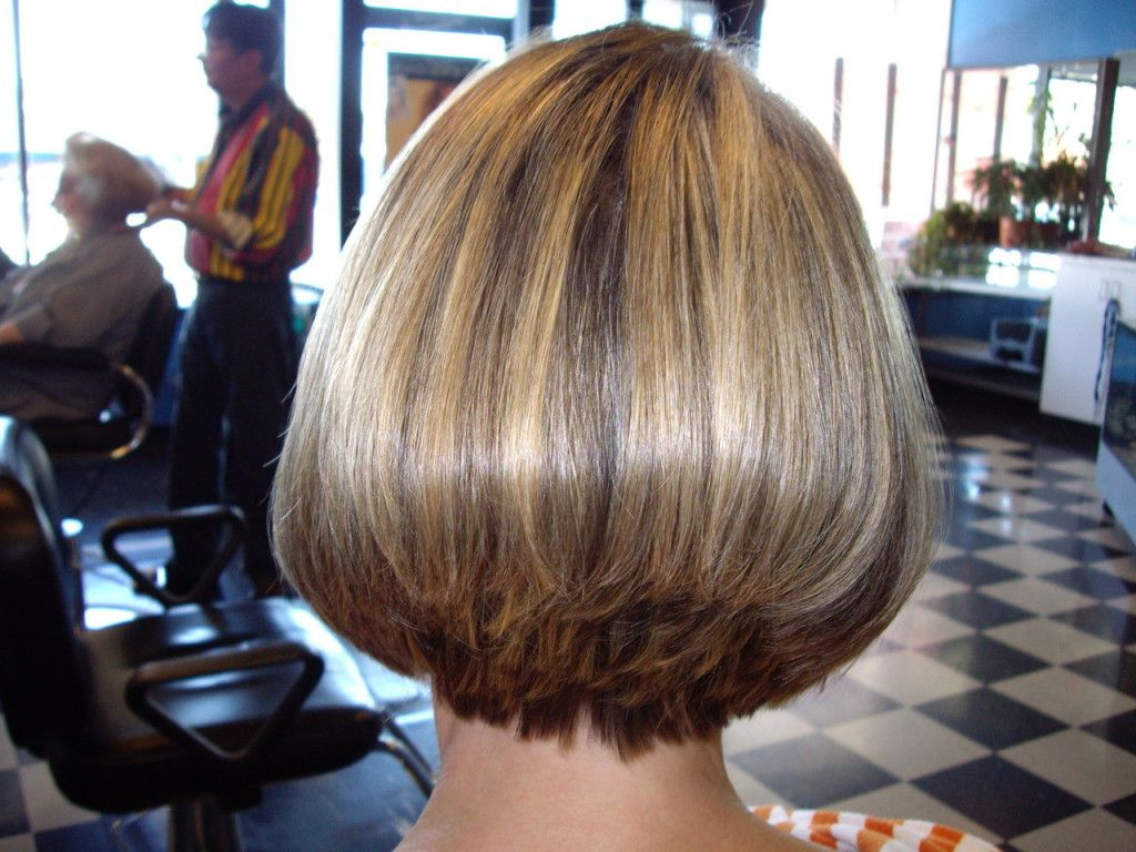 Wedge Haircut With Stacked Back | Short Hair Styles Stacked Within Wedge Short Haircuts (View 23 of 25)
