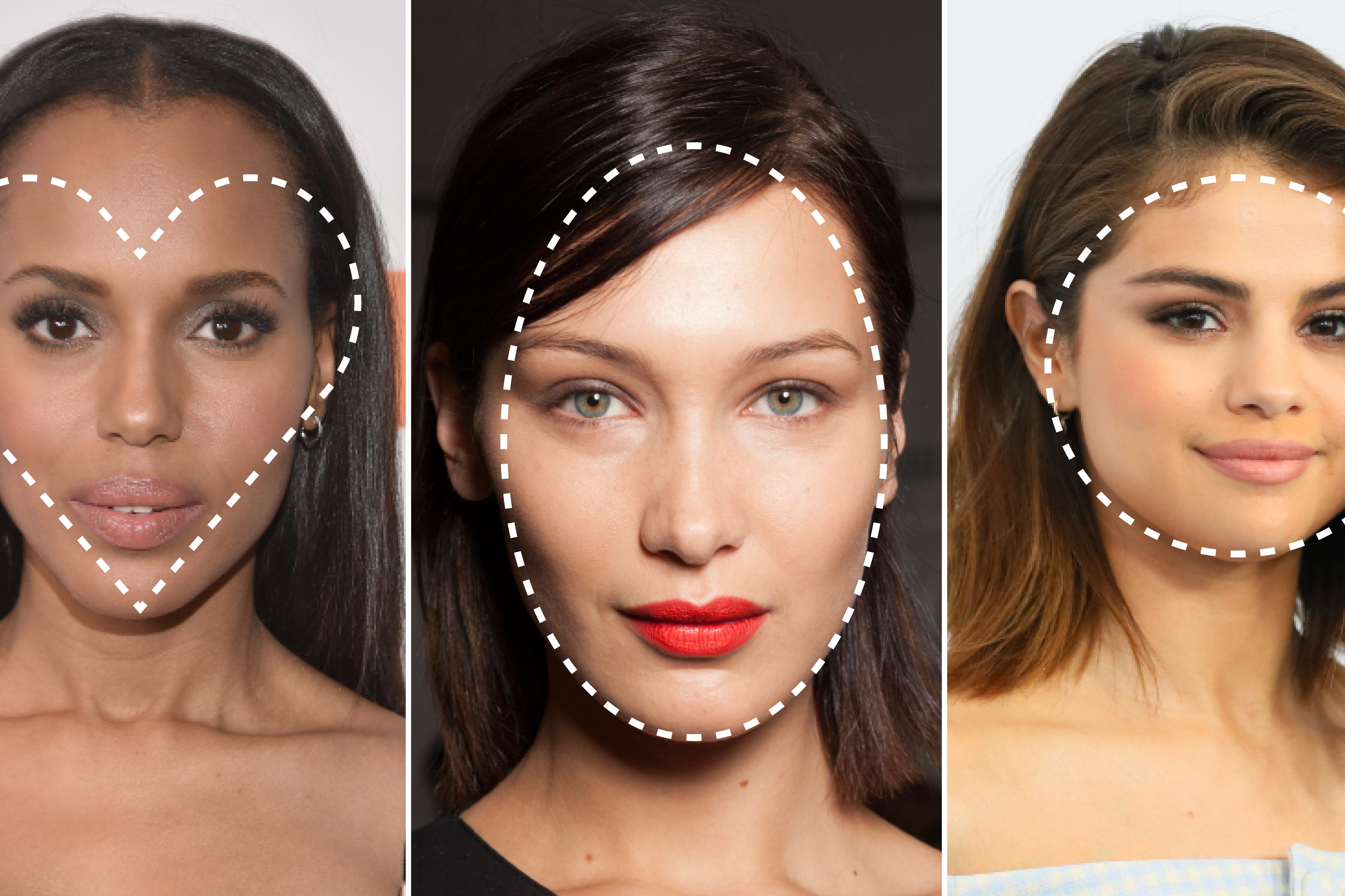 What Is My Face Shape? 3 Steps To Finding Your Face Shape – Allure Regarding Short Hairstyles For Round Faces And Glasses (View 22 of 25)