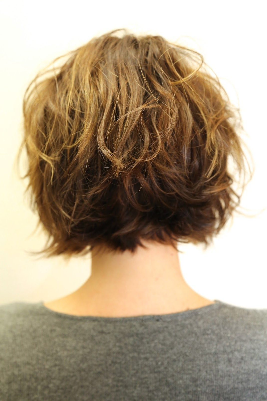 Wish I Could Get My Hair To Loosely Wave Like Thisand Stay Intended For Loosely Waved Messy Brunette Bob Hairstyles (View 13 of 25)