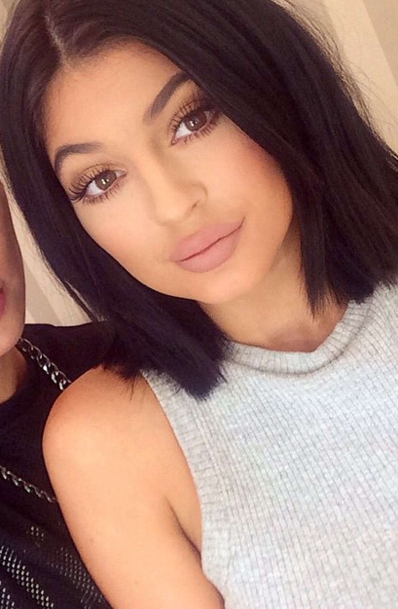 Wispies Black Lashes | Eyes•lips•face | Pinterest | Hair, Makeup And Pertaining To Kylie Jenner Short Haircuts (View 25 of 25)