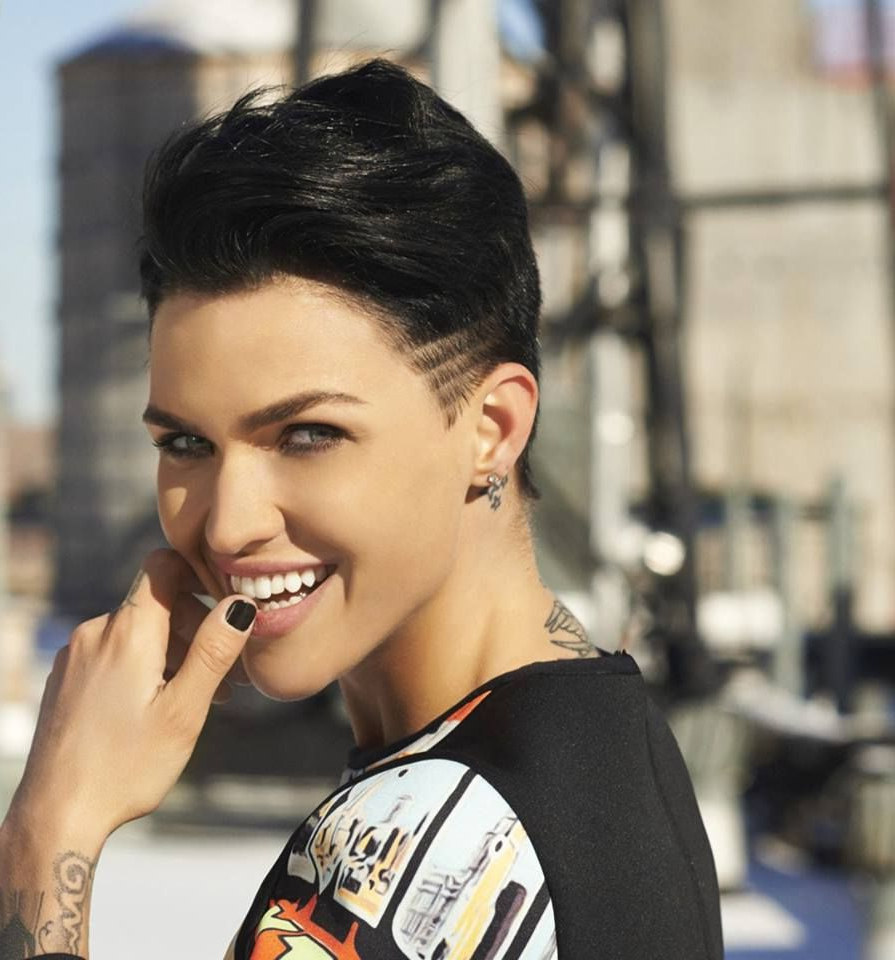 Woman Crush Wednesday (Ruby Rose Edition) | Ruby Rose | Pinterest Regarding Ruby Rose Short Hairstyles (View 15 of 25)