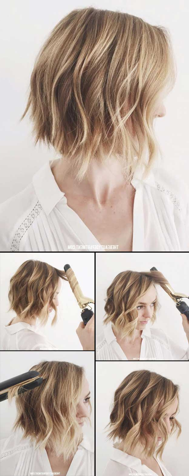 Women Hairstyle : Appealing Cute Updos For Short Hair Simple Regarding Cute Hairstyles For Girls With Short Hair (View 22 of 25)