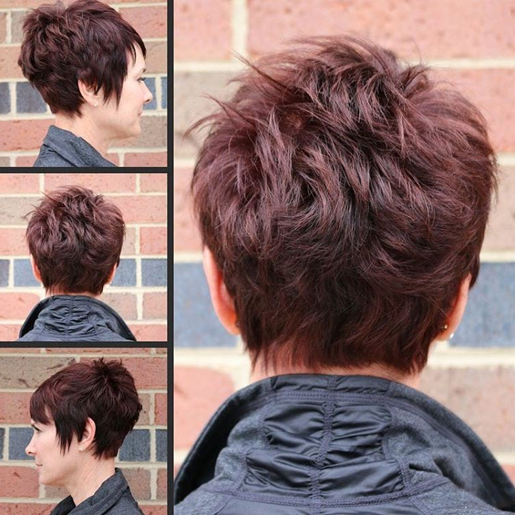 Women's Classic Stacked Choppy Pixie With Choppy Pixie Bob Haircuts With Stacked Nape (View 25 of 25)