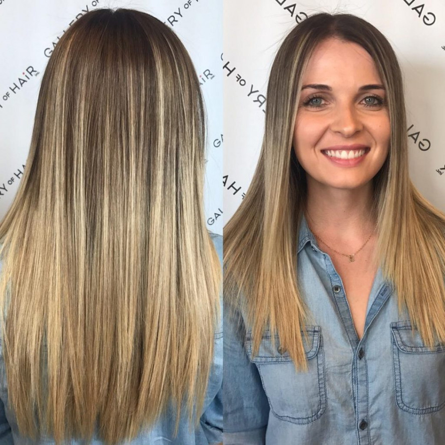 Women's Long Cut With Short Layers And Blonde Ombre Long Hairstyle Within Long Hairstyles Short Layers (View 5 of 25)