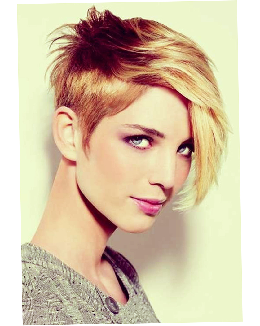 Womens Short Haircuts For Thick Thin Hair Round Face – Ellecrafts In Short Haircuts Women Round Face (View 17 of 25)