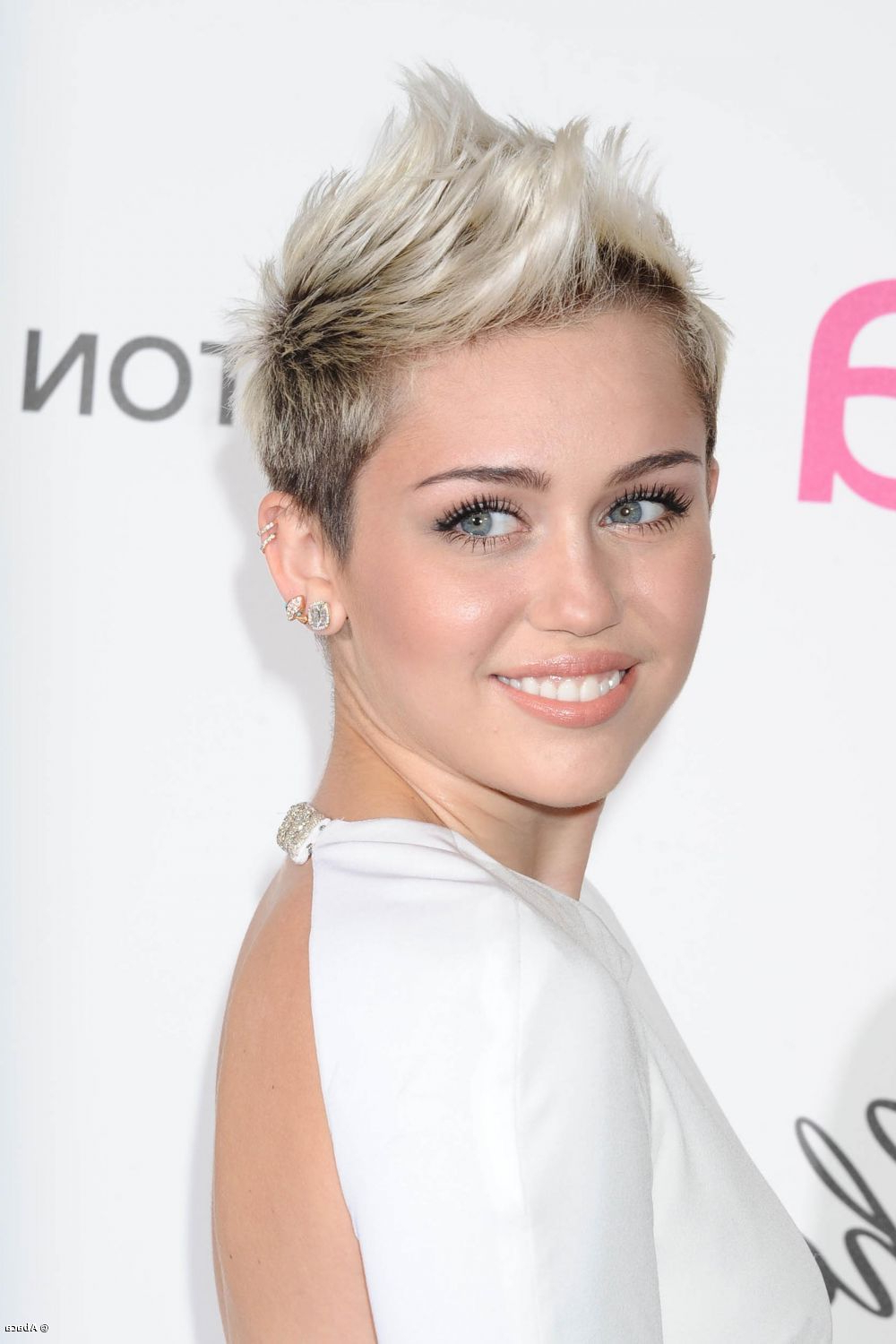 Would You Get A Short Mohawk Hairstyle Like Miley Cyrus? With Short Haircuts Like Miley Cyrus (View 22 of 25)