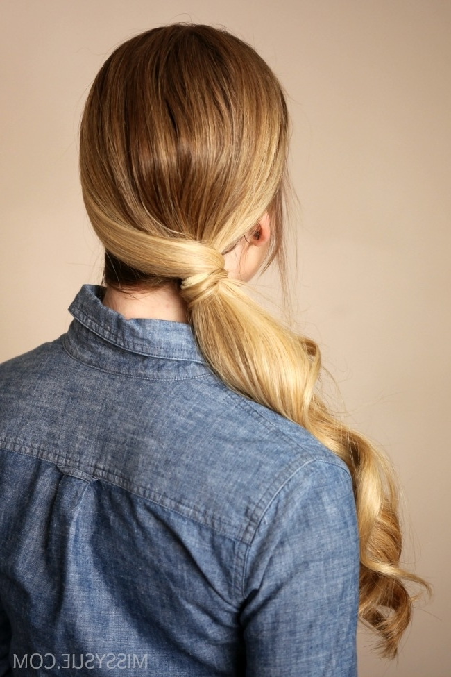Wrapped Side Ponytail | Missy Sue For Criss Cross Side Ponytails (View 10 of 25)