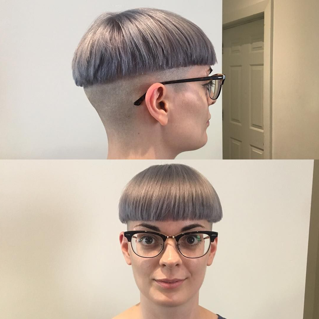 You Don't See Too Many Girls With Glasses In Bowlcuts, Which Is Too Regarding Short Haircuts For Girls With Glasses (View 12 of 25)
