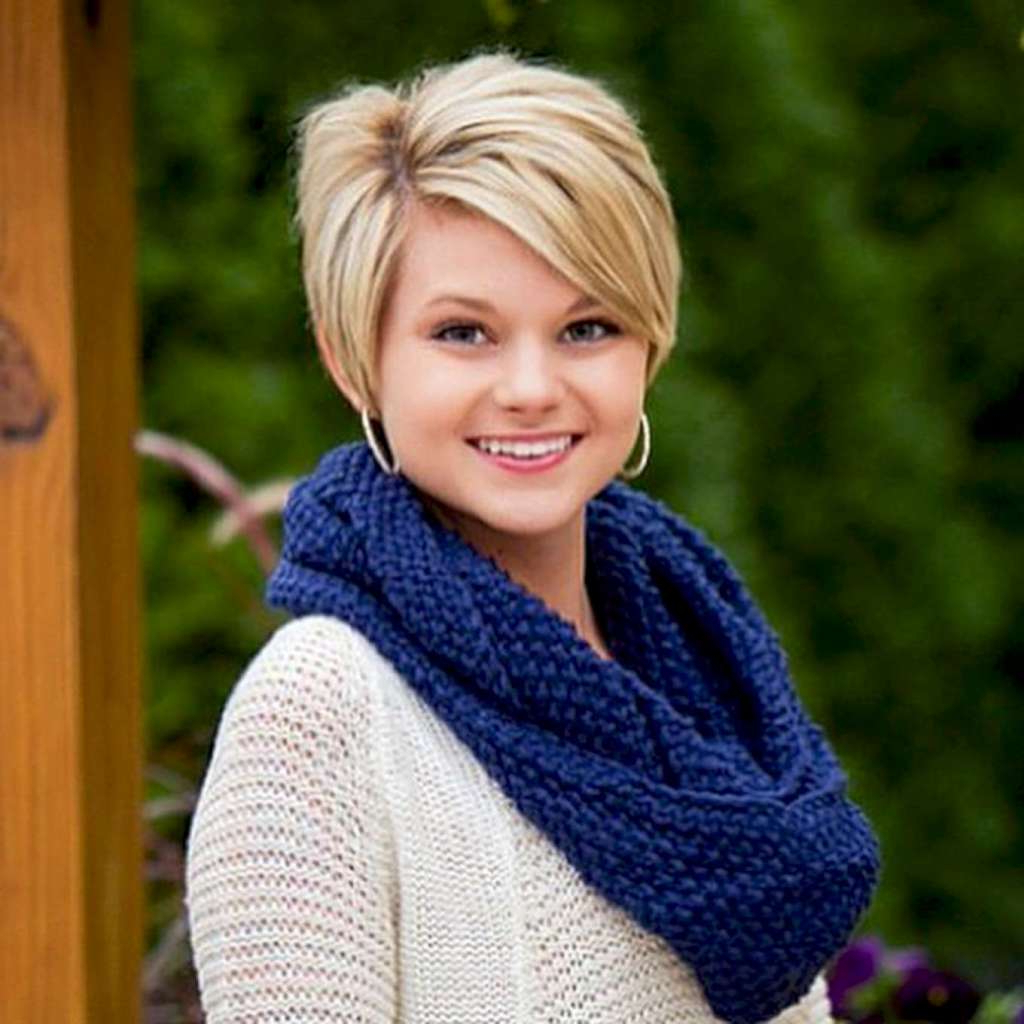 You Should Experience Plus Size Haircuts At Least Once In Your With Short Hairstyles For Curvy Women (View 4 of 25)