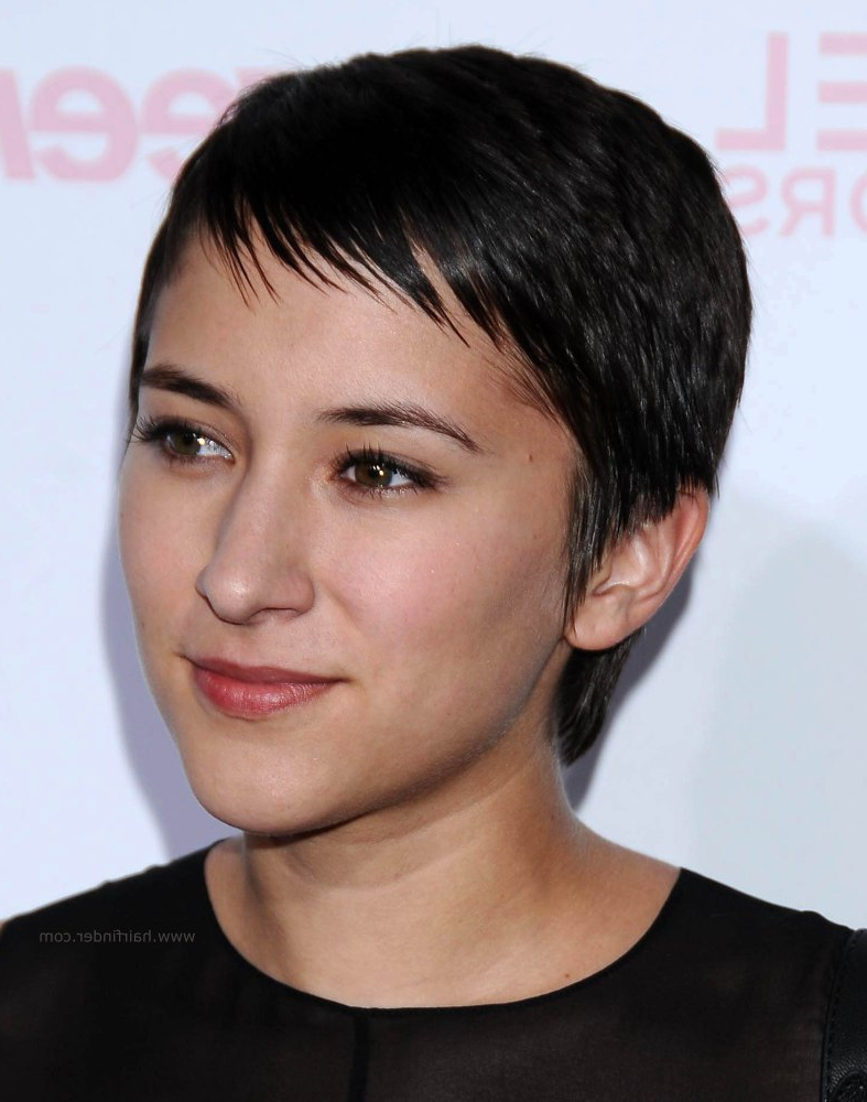 Zelda Williams   Super Short Black Hair With A Longer Nape With Regard To Super Short Hairstyles For Black Women (View 7 of 25)