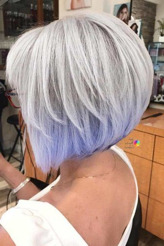 10 Gorgeous Medium Length Hairstyles For Women Over 50 | Hair With Lavender Hairstyles For Women Over (View 2 of 25)