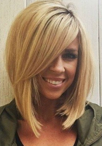 100 Best Blonde Bob Haircuts | Blonde Bobs 2017 Intended For Blonde Bob Hairstyles With Bangs (View 23 of 25)