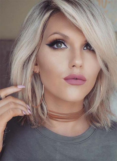 100 Short Hairstyles For Women: Pixie, Bob, Undercut Hair | Fashionisers Within Pure Blonde Shorter Hairstyles For Older Women (View 13 of 25)