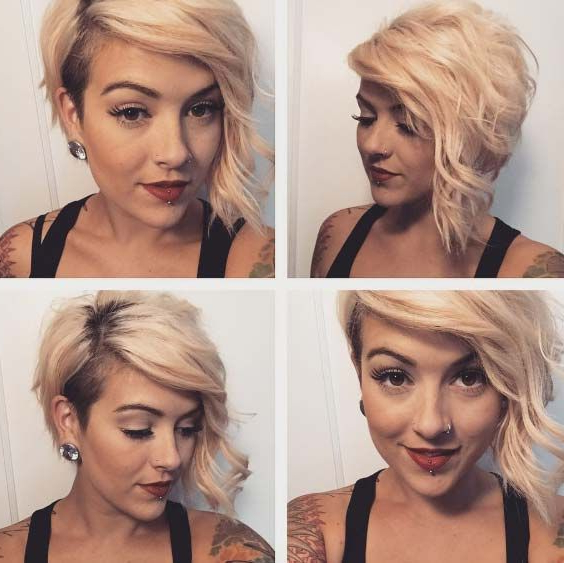 100 Top Pixie Haircuts Of All Time | Short Hair Don't Care | Hair Pertaining To Asymmetrical Pixie Bob Hairstyles (View 15 of 25)