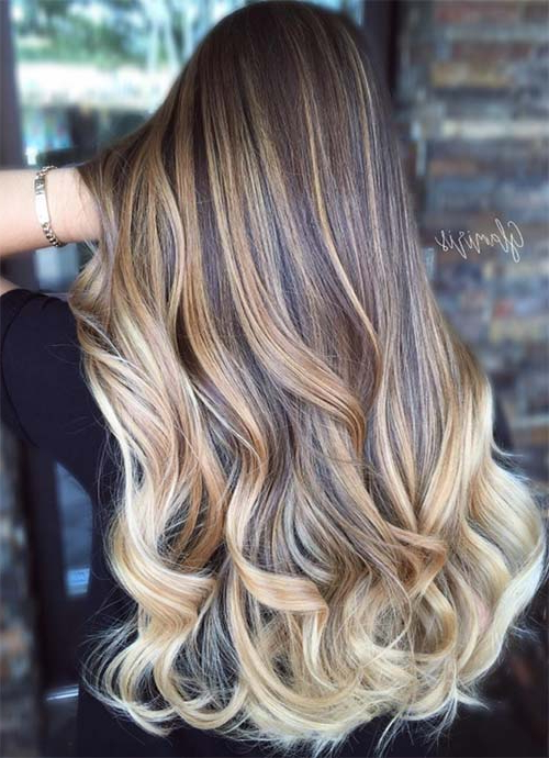 101 Layered Haircuts & Hairstyles For Long Hair Spring 2017 For Chic Chocolate Layers Hairstyles (View 10 of 25)