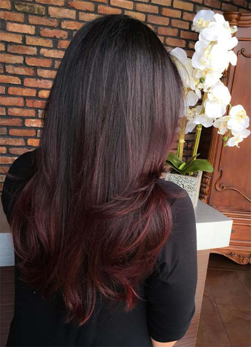101 Layered Haircuts & Hairstyles For Long Hair Spring 2017 Regarding Chic Chocolate Layers Hairstyles (View 13 of 25)
