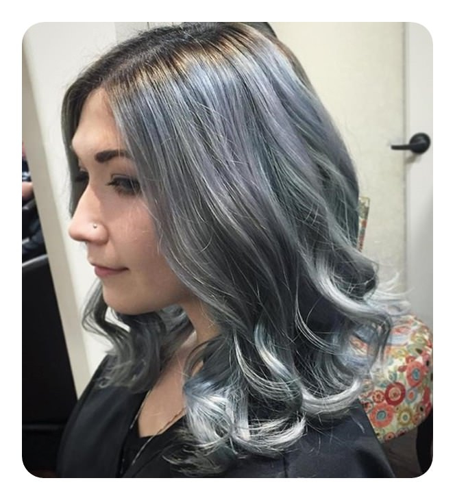 104 Long And Short Grey Hairstyles 2019 – Style Easily In Gray Hairstyles With High Layers (View 25 of 25)
