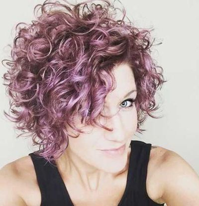 111 Amazing Short Curly Hairstyles For Women To Try In 2018 Inside Short Curly Hairstyles (View 16 of 25)