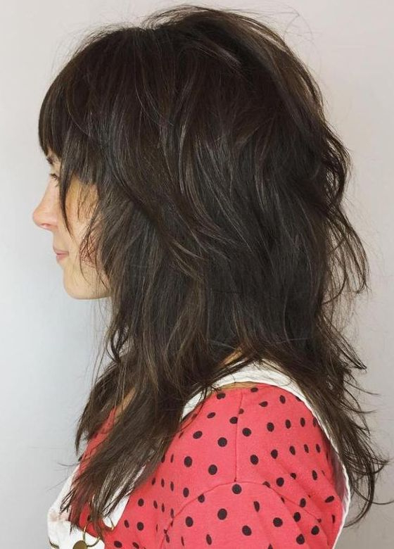 15 Best Long Shag Haircuts For Gorgeous Looks 2017 2018 | Hair Throughout Gorgeous Feathered Look Hairstyles (View 14 of 25)