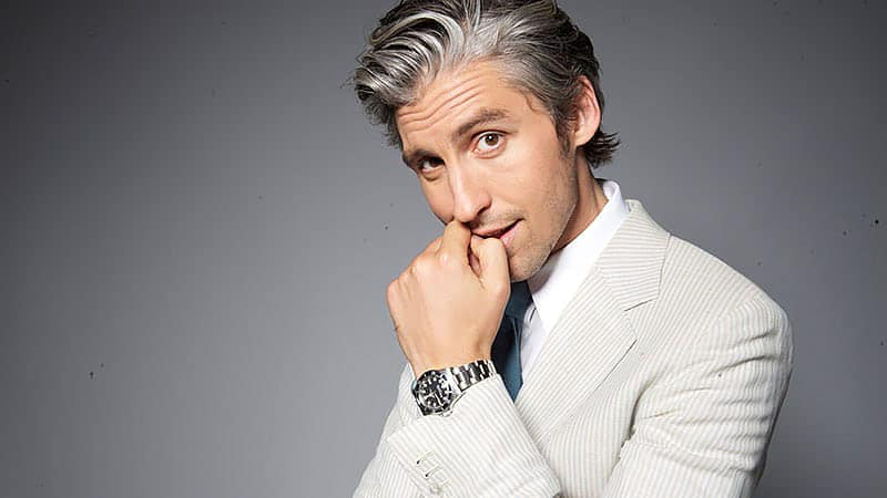 15 Grey Hairstyles For Men That Ooze Cool – The Trend Spotter With Regard To Gray Hairstyles With High Layers (View 13 of 25)