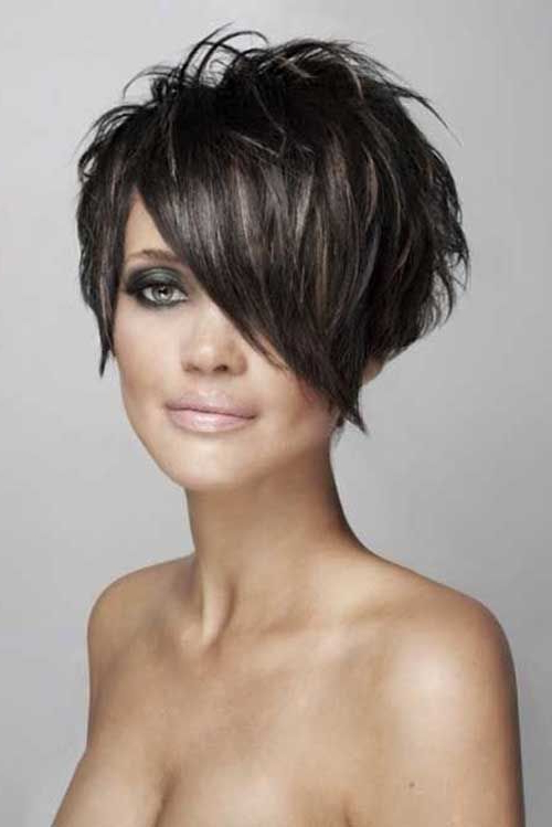 15 New Pixie Bob Hairstyles In 2018 | Hair | Pinterest | Short Hair Intended For Edgy Pixie Bob Hairstyles (View 2 of 25)