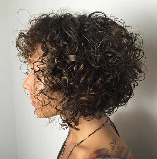 15+ Pics Of Short Curly Hairstyles For Ladies | Short Hairstyles Throughout Short Curly Hairstyles (View 12 of 25)