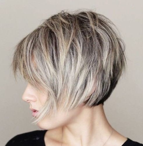 15 Short Hairstyles For Fine Hair – Pump Up Your Hair Look Inside Short Wispy Hairstyles For Fine Locks (View 18 of 25)