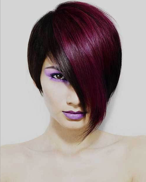 15 Two Tone Hair Color Ideas For Short Hair | Gorgeous Hair Inside Voluminous Two Tone Haircuts (View 25 of 25)