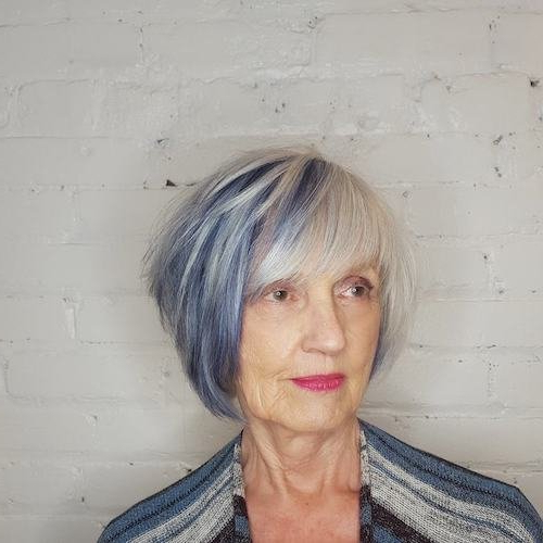 17 Best Hair Color Ideas For Women Over 50 With Regard To Lavender Hairstyles For Women Over (View 22 of 25)