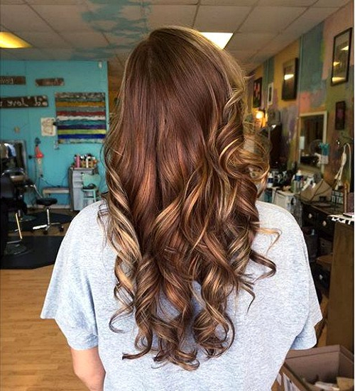 17 Sweet Chocolate Hairstyles For Women | Styles Weekly With Chic Chocolate Layers Hairstyles (View 21 of 25)