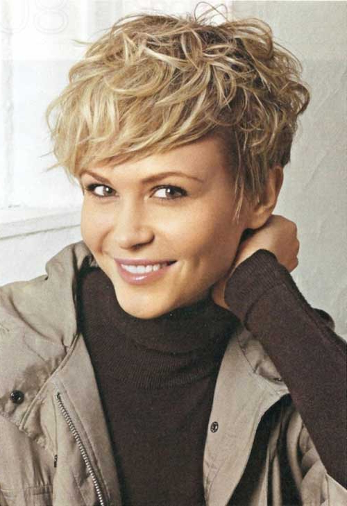 19 Cute Wavy & Curly Pixie Cuts We Love – Pixie Haircuts For Short For Ruffled Pixie Hairstyles (View 12 of 25)