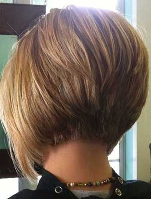 20 Bob Hairstyles Back View | Bob Hairstyles 2015 – Short Hairstyles Inside Honey Blonde Layered Bob Hairstyles With Short Back (View 3 of 25)