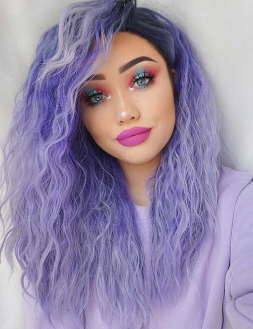 20 Breathtaking Purple Ombre Hair Color Ideas For Purple Haze Hairstyles (View 5 of 25)
