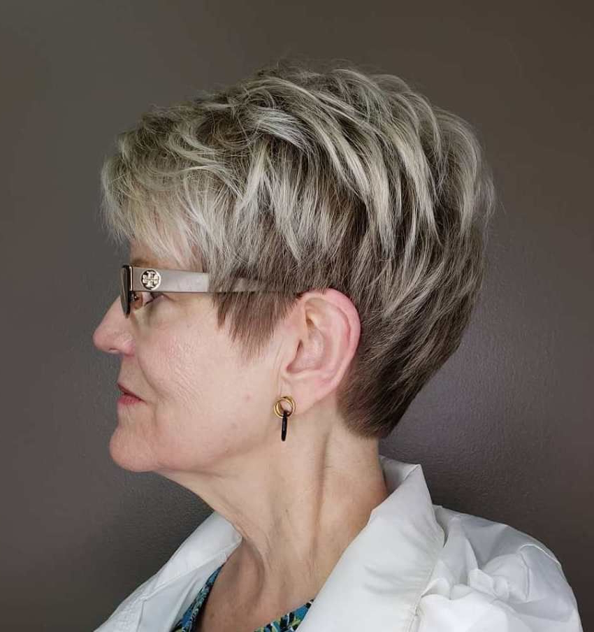 20 Charming Pixie Haircuts For Women Over 50 | Short Hair Styles Regarding Over 50 Pixie Hairstyles With Lots Of Piece Y Layers (View 2 of 25)