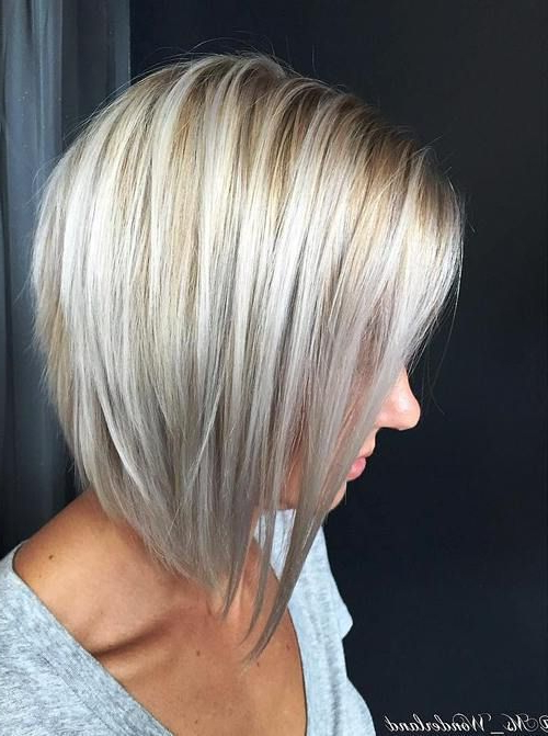20 Edgy Ways To Jazz Up Your Short Hair With Highlights | Hair Regarding Layered Platinum Bob Hairstyles (View 8 of 25)