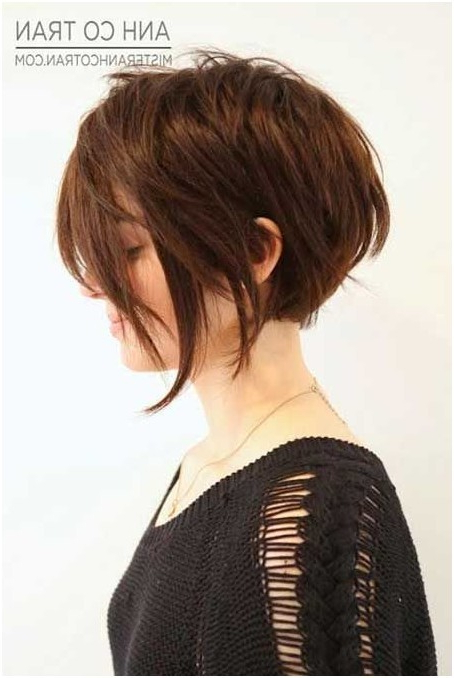 20 Glamorous Bob Hairstyles For Fine Hair: Easy Short Hair – Popular With Layered Bob Hairstyles For Fine Hair (View 22 of 25)