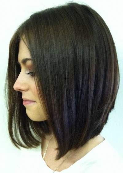 20 Gorgeous Inverted Bob Hairstyles – Popular Haircuts With Regard To Sleek Gray Bob Hairstyles (View 10 of 25)