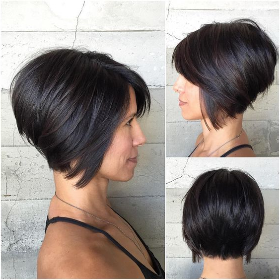 20 Hottest Short Stacked Haircuts – The Full Stack You Should Not With Regard To Pixie Bob Hairstyles With Nape Undercut (View 5 of 25)