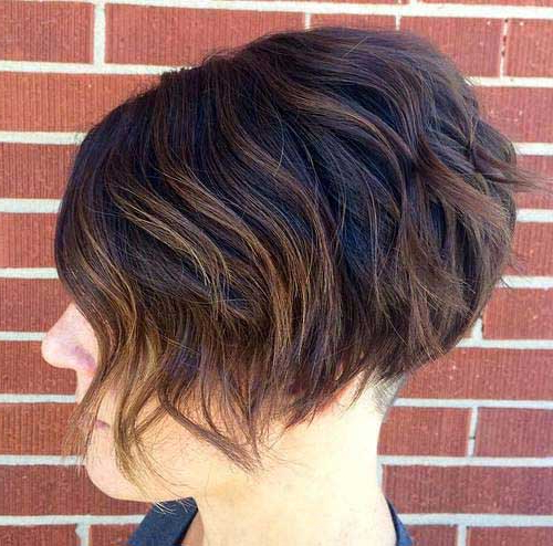 20 Inverted Bob Hairstyles | Short Hairstyles 2018 – 2019 | Most With Regard To Short Wavy Inverted Bob Hairstyles (View 3 of 25)