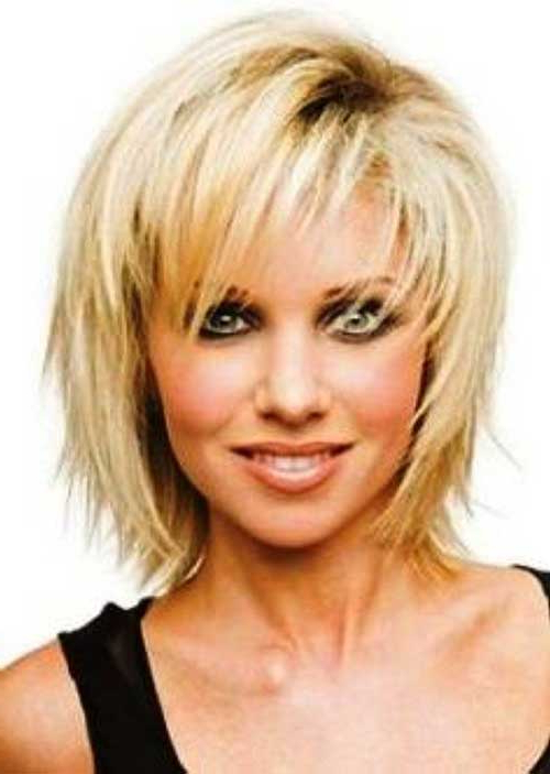 20 Latest Bob Hairstyles For Women Over 50 | Bob Hairstyles 2018 Pertaining To Layered Bob Hairstyles For Fine Hair (View 17 of 25)