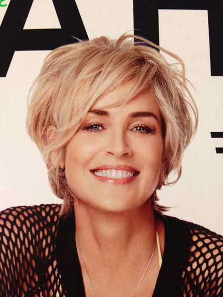 20 Latest Celebrity Short Hairstyles – Pretty Designs Regarding Messy Pixie Bob Hairstyles (View 25 of 25)