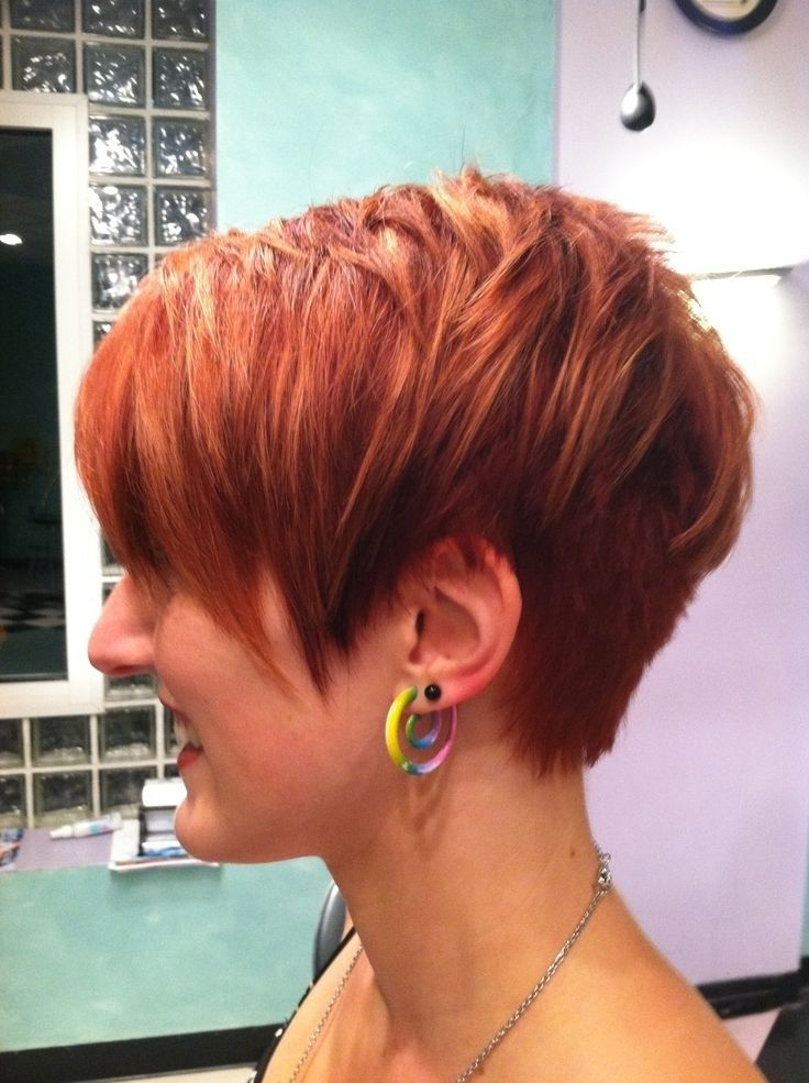 20 Layered Hairstyles For Women With 'problem' Hair – Thick, Thin For Textured Pixie Hairstyles With Highlights (View 16 of 25)