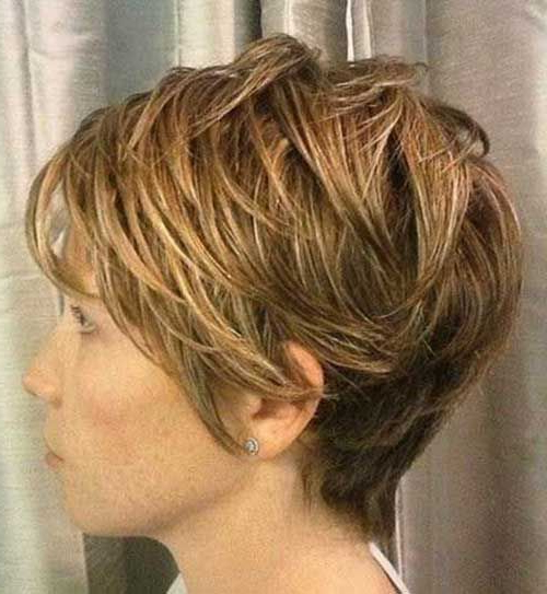 20 Low Maintenance Short Textured Haircuts | Projects To Try Throughout Over 50 Pixie Hairstyles With Lots Of Piece Y Layers (View 12 of 25)