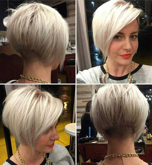 20 Must See Bob Haircuts – Love This Hair With Regard To Layered Platinum Bob Hairstyles (View 5 of 25)