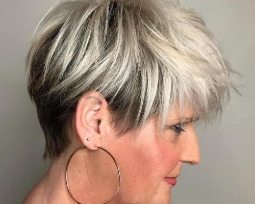 20 Pixie Haircuts For Women Over 50 – Hairstyles Ideas Intended For Pixie Undercut Hairstyles For Women Over  (View 5 of 25)
