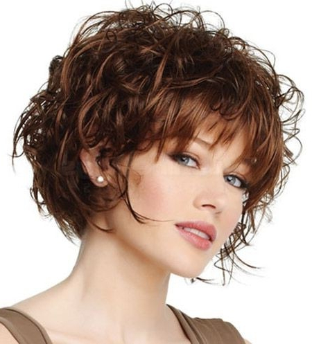 20 Popular Short Haircuts For Thick Hair – Popular Haircuts In Short Layered Hairstyles For Thick Hair (View 5 of 25)